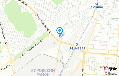 Местоположение на карте пункта техосмотра по адресу г Самара, ш Ракитовское, д 7 стр 1