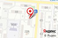 Схема проезда до компании Волга-продукт в Самаре