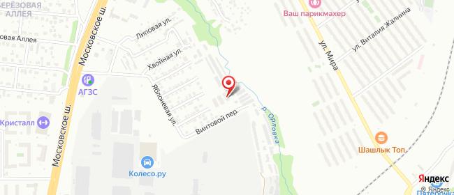 Карта расположения пункта доставки ЖК Новая Самара в городе Самара