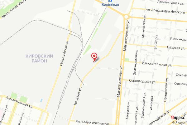 Офис продаж АвтоЕвро: Самара (Самара, ул.Товарная д.70)