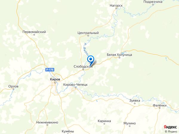 деревня Салтыки на карте