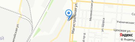 Стройформат на карте Самары