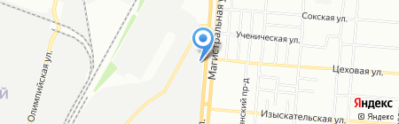 Иорданис на карте Самары