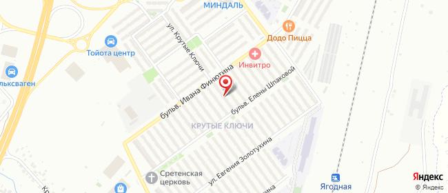 Карта расположения пункта доставки Пункт выдачи ИП Волчок в городе Самара