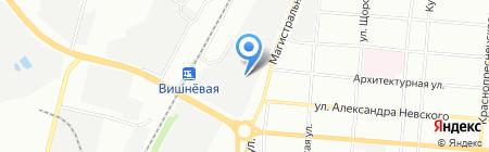 Кока-Кола ЭйчБиСи Евразия на карте Самары