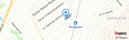 Детский сад №1 на карте Самары