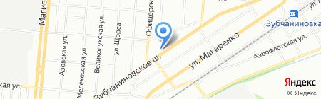 Хрипатый на карте Самары
