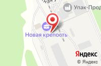 Схема проезда до компании ТехСтройСтекло в Новосемейкино