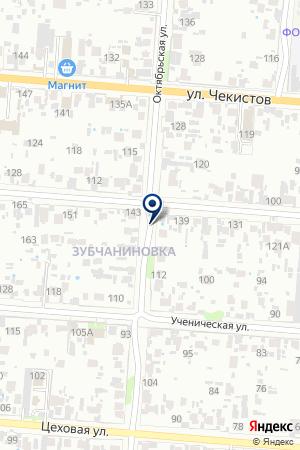 ДЕТСКИЙ САД БЕРЕЗКА на карте Кунашака