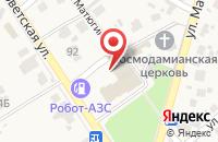 Схема проезда до компании ПАК в Новосемейкино