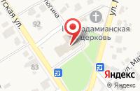 Схема проезда до компании Горилка в Новосемейкино
