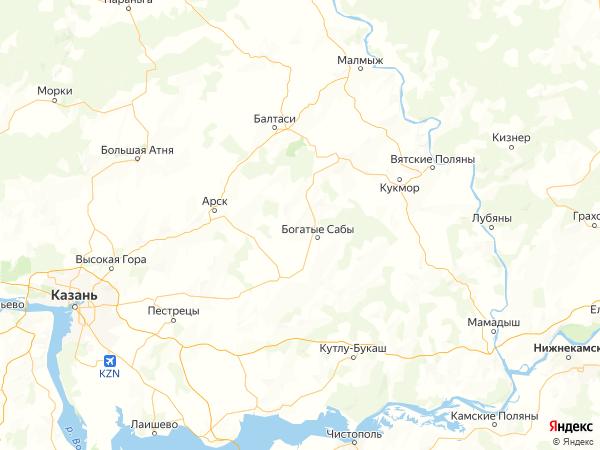 село Тимершик на карте