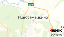 Отели города Новосемейкино на карте