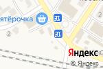 Схема проезда до компании Магазин в Новосемейкино