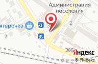 Схема проезда до компании Кирпичная гора в Новосемейкино