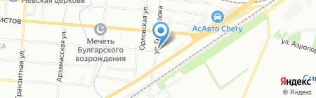 Гильдия-М на карте Самары