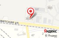 Схема проезда до компании Маяк в Новосемейкино