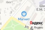Схема проезда до компании Продуктовый магазин в Новосемейкино