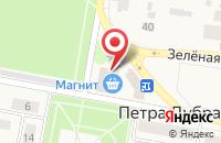 Схема проезда до компании Магазин цветов в Петре Дубраве