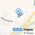КУБОМЕТР на карте Самары