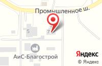 Схема проезда до компании Пожарная часть №151 в Новосемейкино