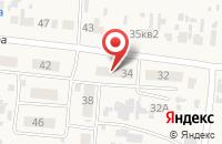 Схема проезда до компании Тауэр-Телеком в Волжском