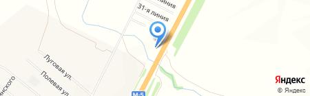 Автостоянка на карте Белозерки