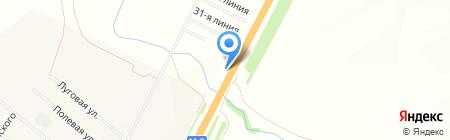 Привал Странника на карте Белозерки