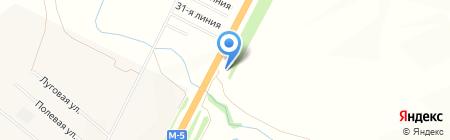 АЗС Эко+ на карте Белозерки