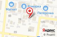 Схема проезда до компании Мягкий сон в Красном Яре