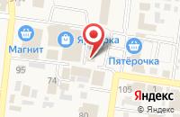 Схема проезда до компании Фонд социального страхования РФ в Красном Яре