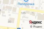 Схема проезда до компании Киоск по продаже колбасных изделий в Красном Яре