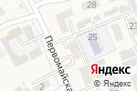 Схема проезда до компании Продуктовый магазин в Смышляевке