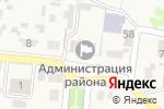 Схема проезда до компании Администрация муниципального района Красноярский в Красном Яре