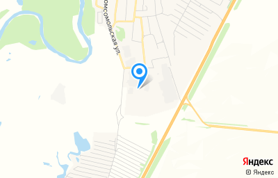 Местоположение на карте пункта техосмотра по адресу Самарская обл, с Красный Яр, ул Сельхозтехника, зд 4