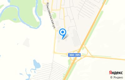 Местоположение на карте пункта техосмотра по адресу Самарская обл, с Красный Яр, ул Сельхозтехника, д 4