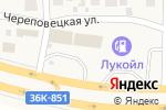 Схема проезда до компании Евротент в Спутнике