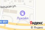 Схема проезда до компании Лукойл в Спутнике