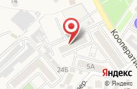 Схема проезда до компании Мараffет в Алексеевке