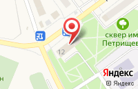 Схема проезда до компании Советник в Алексеевке