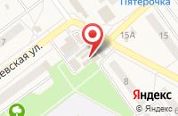 Схема проезда до компании Твой букет в Алексеевке