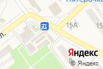Схема проезда до компании Золотая рыбка в Алексеевке