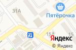 Схема проезда до компании Смак в Алексеевке