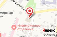 Схема проезда до компании Дружба в Алексеевке