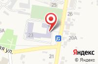 Схема проезда до компании Средняя общеобразовательная школа №8 в Алексеевке