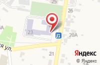 Схема проезда до компании Пульсар в Алексеевке