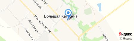 Церковь во имя Архистратига Михаила на карте Большой Каменки