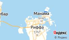 Отели города Карбабад на карте