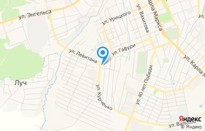 Местоположение на карте пункта техосмотра по адресу Респ Татарстан, г Чистополь, ул Курченко, д 1А/2