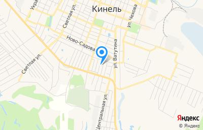 Местоположение на карте пункта техосмотра по адресу Самарская обл, г Кинель, ул Д.Овсянникова, д 10